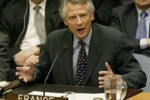 Le 14 février 2003, renouant avec la tradition gaulliste d'indépendance de la France, Dominique de Villepin s'oppose au Conseil de sécurité à la volonté états-unienne de détruire l'Irak.