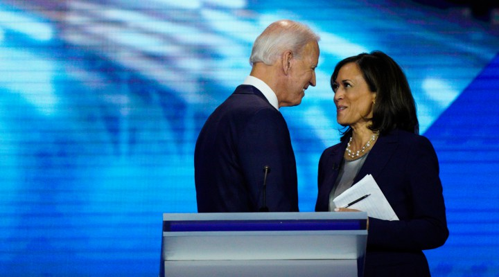 Amid protests, Harris emerges as top contender for Bidens